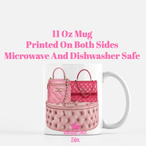 Chanel Glam Handbag Set6 Coffee Mug-