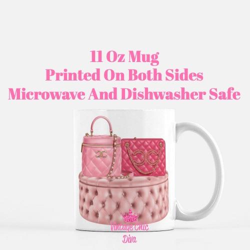 Chanel Glam Handbag Set7 Coffee Mug-