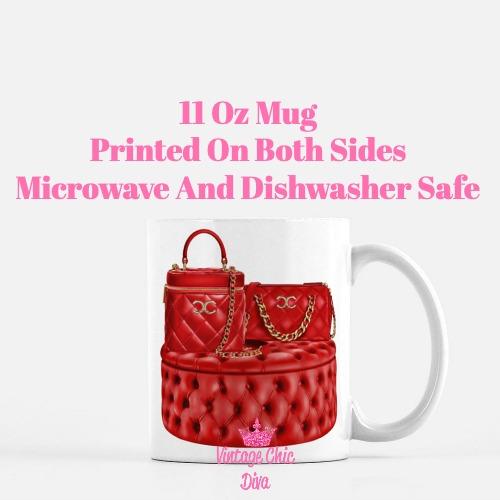 Chanel Glam Handbag Set9 Coffee Mug-