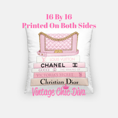 Chanel Handbag10 Pillow Case-