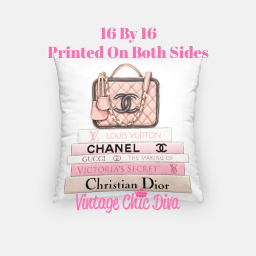 Chanel Handbag12 Pillow Case-