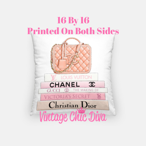Chanel Handbag13 Pillow Case-