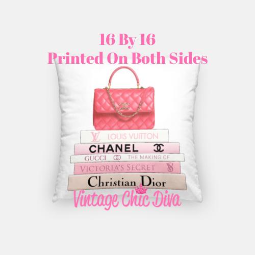 Chanel Handbag2 Pillow Case-