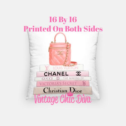 Chanel Handbag8 Pillow Case-