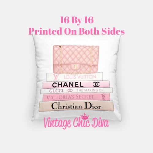 Chanel Handbag9 Pillow Case-