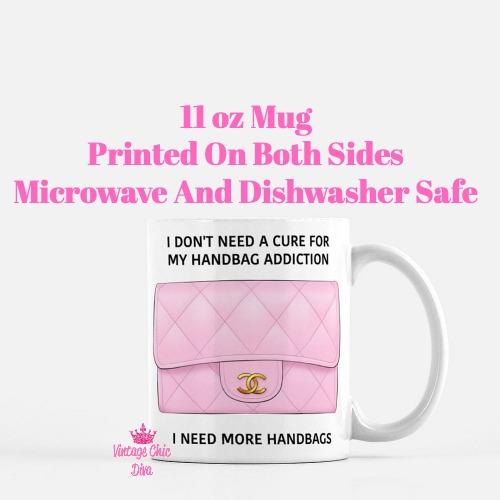 Chanel Handbag Addiction1 Coffee Mug-