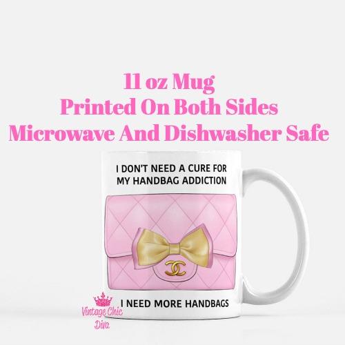 Chanel Handbag Addiction5 Coffee Mug-