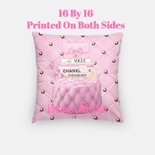Chanel Handbag Set10 Pillow Case-