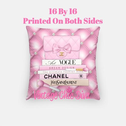 Chanel Handbag Set1 Pillow Case-