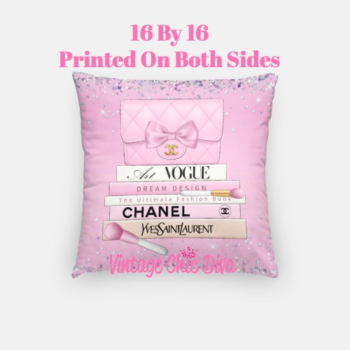 Chanel Handbag Set2 Pillow Case-