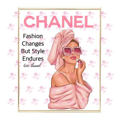 Chanel Magazine Girl11 Wh Bg-