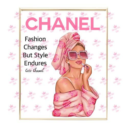 Chanel Magazine Girl14 Wh Bg-