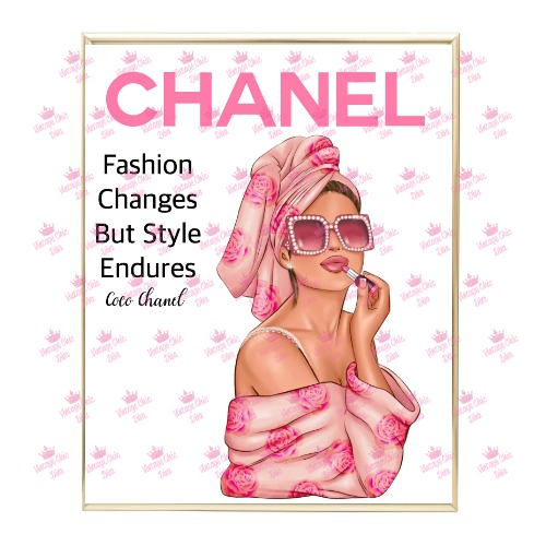 Chanel Magazine Girl15 Wh Bg-