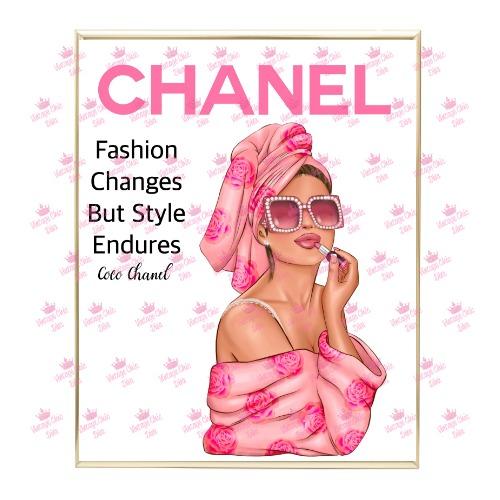 Chanel Magazine Girl18 Wh Bg-