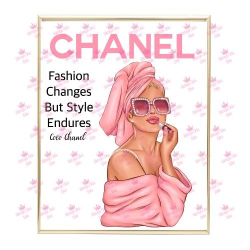 Chanel Magazine Girl19 Wh Bg-