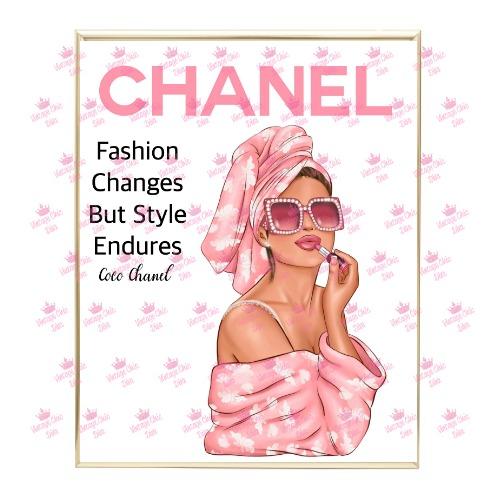 Chanel Magazine Girl6 Wh Bg-