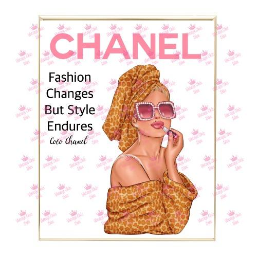Chanel Magazine Girl7 Wh Bg-