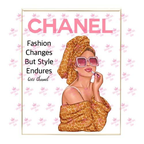Chanel Magazine Girl8 Wh Bg-