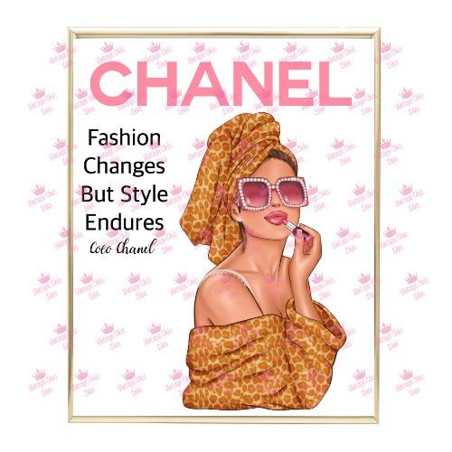 Chanel Magazine Girl9 Wh Bg-