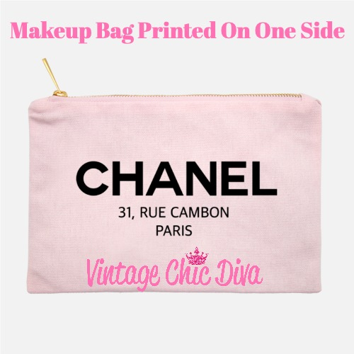 Chanel Paris1 Makeup Bag Pink-