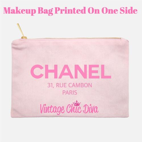 Chanel Paris7 Makeup Bag Pink-