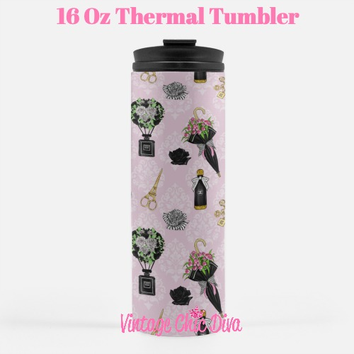 Chanel Pattern12 Tumbler-