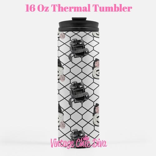 Chanel Pattern16 Tumbler-
