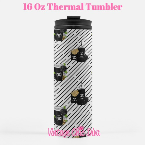 Chanel Pattern18 Tumbler-