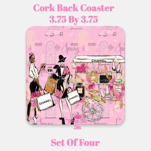 Chanel Pattern1 Coaster-