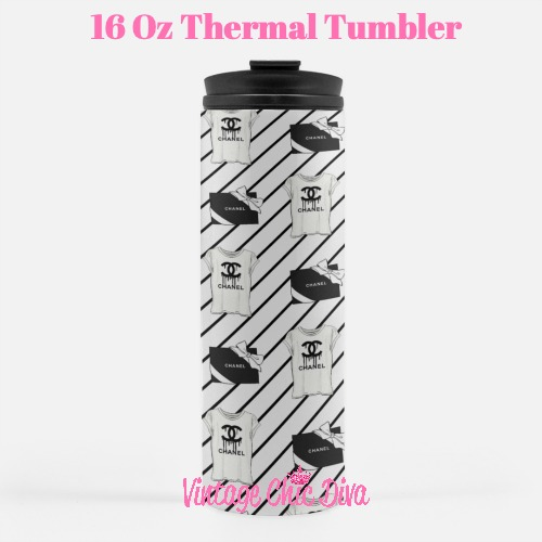 Chanel Pattern24 Tumbler-
