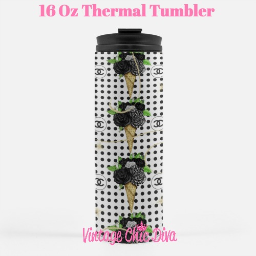Chanel Pattern2 Tumbler-