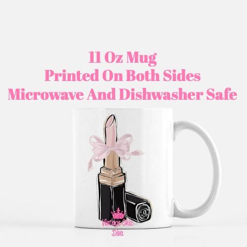 Chanel Pink Black Set14 Coffee Mug-