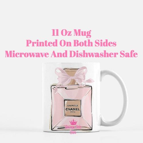 Chanel Pink Black Set16 Coffee Mug-