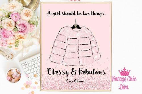 Chanel Pink Fur Pink Diamond Background-