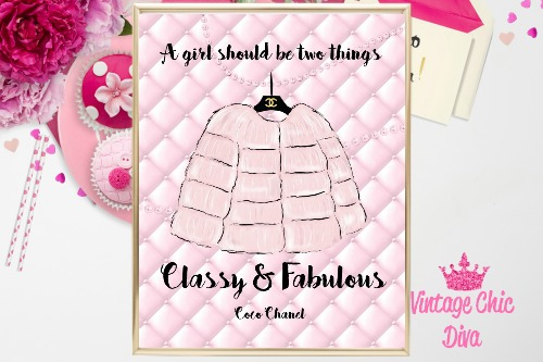 Chanel Pink Fur Pink Pearl Tufted Background-