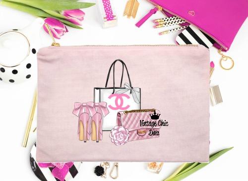 Chanel Pink Set1 Pink-