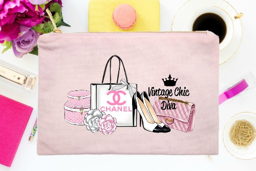 Chanel Pink Set2 Pink-