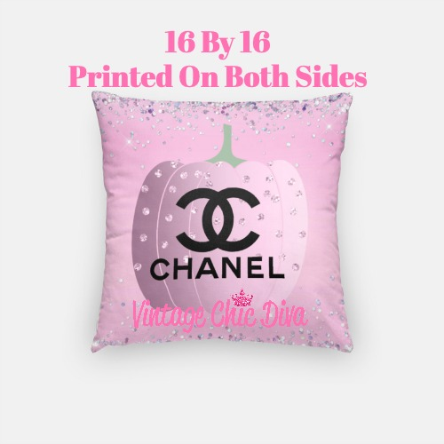 Chanel Pumpkin5 Pillow Case-