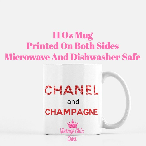 Chanel Quote10 Coffee Mug-