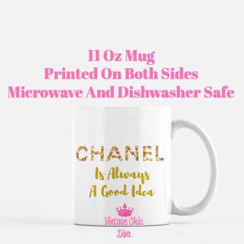 Chanel Quote12 Coffee Mug-