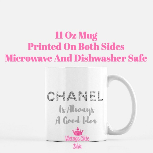 Chanel Quote13 Coffee Mug-