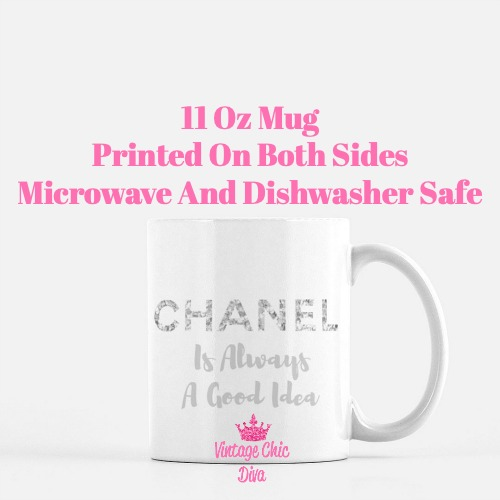 Chanel Quote14 Coffee Mug-
