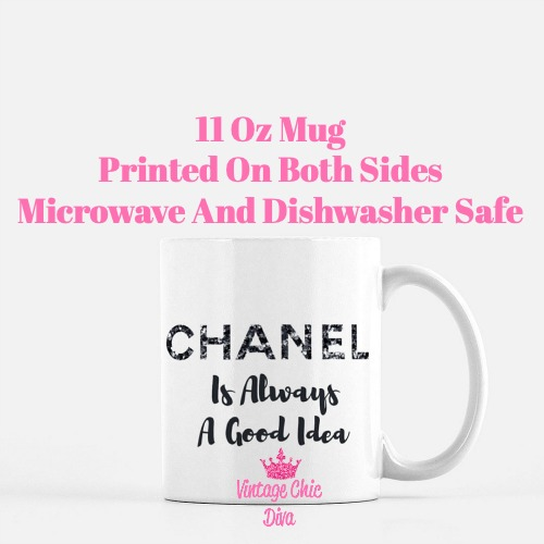 Chanel Quote15 Coffee Mug-