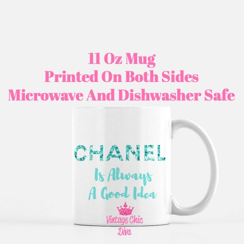 Chanel Quote16 Coffee Mug-