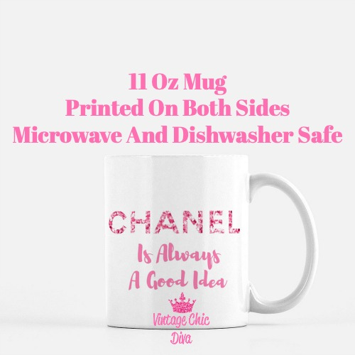 Chanel Quote17 Coffee Mug-