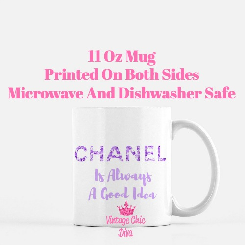 Chanel Quote18 Coffee Mug-