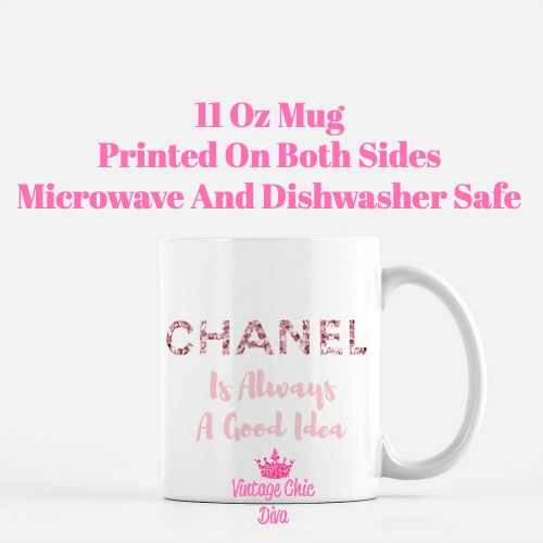 Chanel Quote19 Coffee Mug-