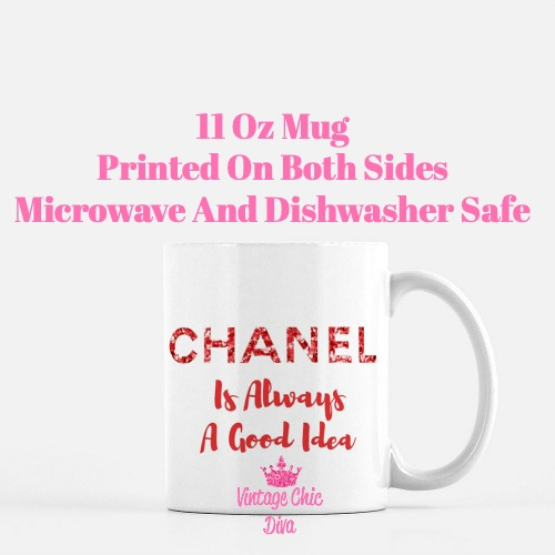 Chanel Quote20 Coffee Mug-