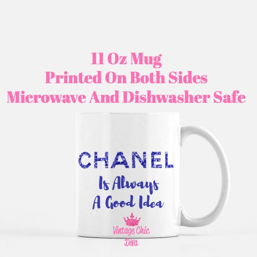 Chanel Quote21 Coffee Mug-