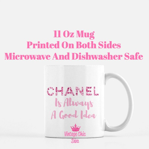 Chanel Quote22 Coffee Mug-